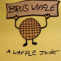 Photo taken at Bru's Wiffle - A Waffle Joint by Lindsay G. on 3/10/2012