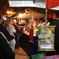 Photo taken at Feira Noturna do Champagnat by Bruno R. on 4/27/2012