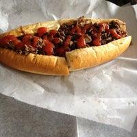 Photo taken at Jim's Steaks by TiShera on 9/7/2012