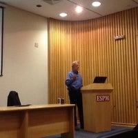 Photo taken at ESPM - Auditório Prof. Aylza Munhoz by Eddie G. on 6/14/2012
