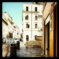 Photo taken at Piazza della Madonna dei Monti by Roldano D. on 7/8/2012