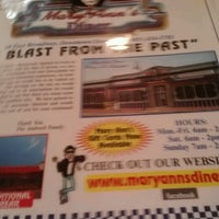 Photo taken at Mary Ann's Diner by Courtney C. on 8/5/2012