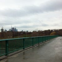 Photo taken at Discovery Walk DVP Footbridge by Andy H. on 12/4/2011