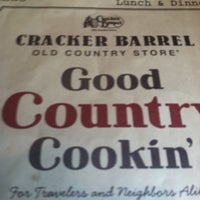 Photo taken at Cracker Barrel Old Country Store by Charles w. on 8/28/2011