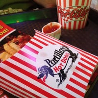 Photo taken at Portillo's Hot Dogs by Jen M. on 12/17/2011