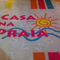 Photo taken at Casa na Praia by Wesley C. on 4/17/2012