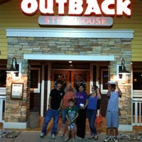 Photo taken at Outback Steakhouse by TheWizard O. on 6/4/2012