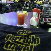 Photo taken at Austin Avenue 2 Grill & Sports Bar by Brian D. on 10/2/2011