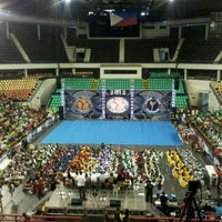 Photo taken at PhilSports Arena (ULTRA) by Victor Anthony W. on 3/17/2012