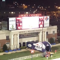 Photo taken at Liberty University by Josh O. on 9/9/2012