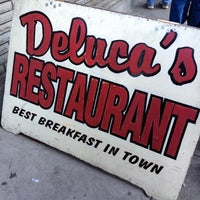 Photo taken at DeLuca's Diner by Wil S. on 11/6/2011