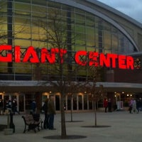 Photo taken at Giant Center by Joe L. on 12/31/2011