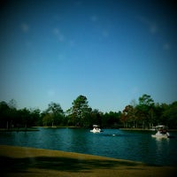 Photo taken at Hermann Park by Tracy B. on 12/30/2011