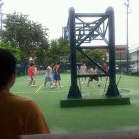 Photo taken at Lapangan Basket Duren Sakti by Mizu on 4/7/2012