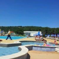 Photo taken at Beach Hotel Otrant by Astrit L. on 6/16/2012