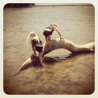 Photo taken at Morgia's Beach by Tania A. on 7/1/2012