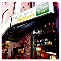 Photo taken at Salumeria Italiana by Rebecca on 9/24/2011