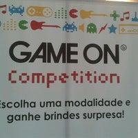 Photo taken at Game On by Valdir M. on 1/3/2012