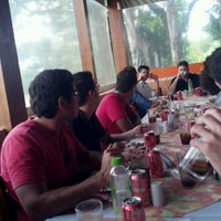 Photo taken at Restaurante da Lagoa by Gustavo V. on 11/23/2011