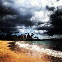 Photo taken at Wailea Beach by Lalisa L. on 8/30/2012
