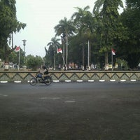 Photo taken at Alun - Alun Pemalang by Amir M. on 8/22/2011