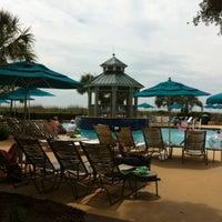 Photo taken at Marriott's Barony Beach Club by Scott D. on 6/1/2012