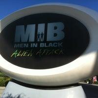 Photo taken at MEN IN BLACK: Alien Attack by Allen B. on 4/28/2012