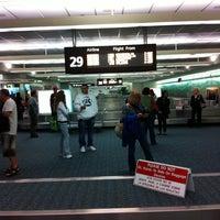 Photo taken at Orlando International Baggage Claim by David S. on 10/3/2011