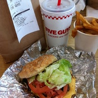 Photo taken at Five Guys by Shantal T. on 5/22/2011
