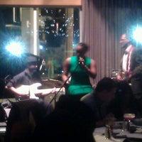 Photo taken at Jazzbah by luke d. on 12/17/2011