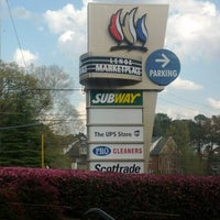 Photo taken at Subway - Lenox Marketplace by Andrew S. on 3/16/2012
