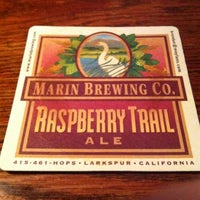 Photo taken at Marin Brewing Company by Tristram E. on 2/21/2012