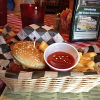 Photo taken at Huey's Restaurant by Alison P. on 9/4/2012