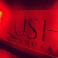 Photo taken at Qush Hookah Lounge by Gabriel K. on 6/9/2012
