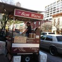 Photo taken at The Best Wurst by Joel V. on 3/12/2012