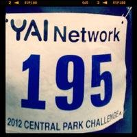 Photo taken at YAI Central Park Challenge by Brunilda D. on 6/2/2012