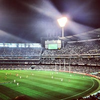 Photo taken at MCG by Kevin P. on 9/1/2012