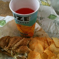 Photo taken at Subway by Shawn B. on 7/13/2012
