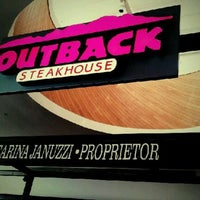 Photo taken at Outback Steakhouse by Bruno L. on 2/20/2012