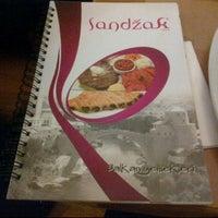 Photo taken at Sandzak Balkan Yemekleri by Hande A. on 11/6/2011