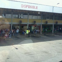 Photo taken at Terminal de Buses Curicó by Daniel I. on 10/10/2011