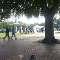 Photo taken at Pencester Park by Steve B. on 9/8/2012