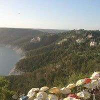 Photo taken at The Oasis on Lake Travis by Brandon T. on 7/21/2012