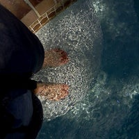 Photo taken at Toes N Pool by Topher A. on 4/8/2012