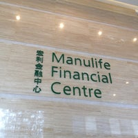 Photo taken at Manulife Financial Centre by Apinan L. on 6/22/2012