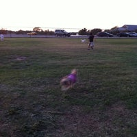 Photo taken at Camp Barkeley Dog Park by Ceci R. on 10/24/2011