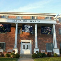 Photo taken at Alpha Chi Omega House by Brittani S. on 2/22/2012