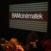 Photo taken at BAM Rose Cinemas by iamthescrapman on 1/31/2012