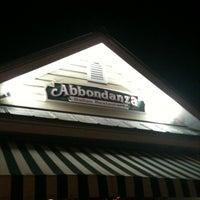 Photo taken at Abbondanza Italian Restaurant by Chris K. on 8/28/2011