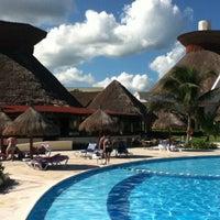 Photo taken at Gran Bahia Principe Tulum by Mathieu G. on 11/25/2011